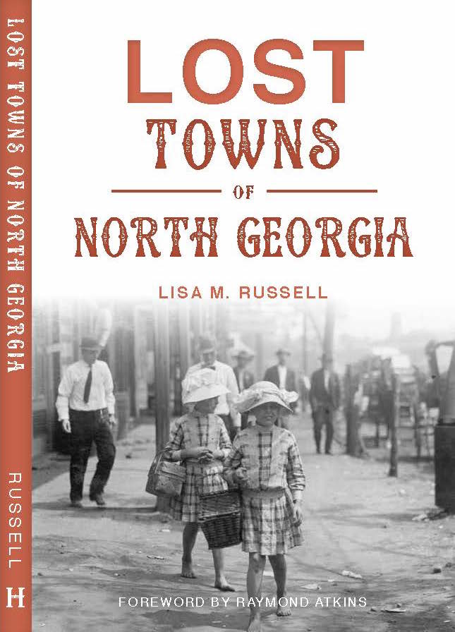 Lost Towns book cover