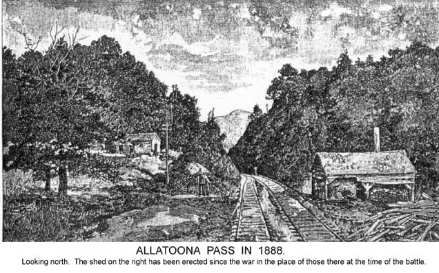 Allatoona Pass 1888